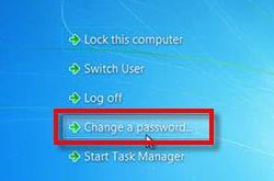 change password 1